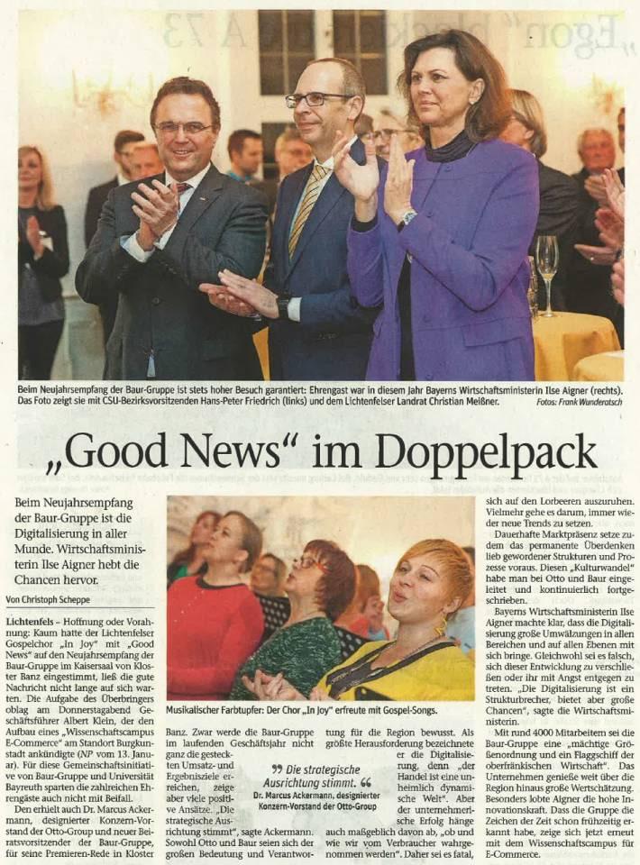 "Chor Injoy Good News im Doppelpack - ""Good News"" im Doppelpack"